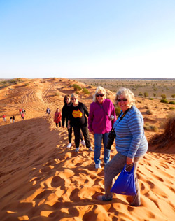 Big Red Simpson Desert Tour