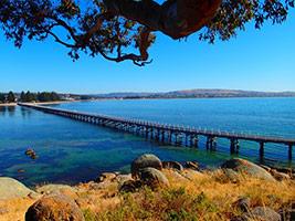 Causeway to Granite Island