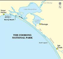 Coorong Tour Map