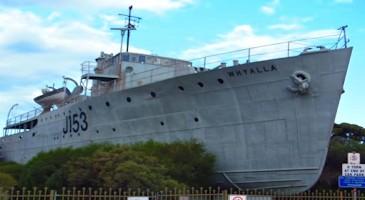 HMAS Whyalla Tour