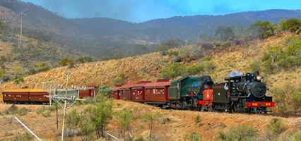 Pichi Richi Railway Train