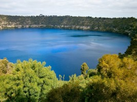 Blue Lake Tour Mount Gambier