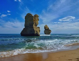 Twelve Apostles during daylight