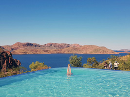 Infinity Pool Kununurra Resort