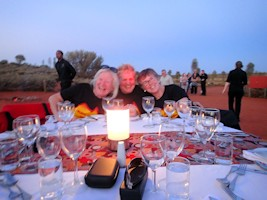 Sounds of Silence Dinner Uluru optional