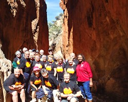 Standley Chasm Day Tour
